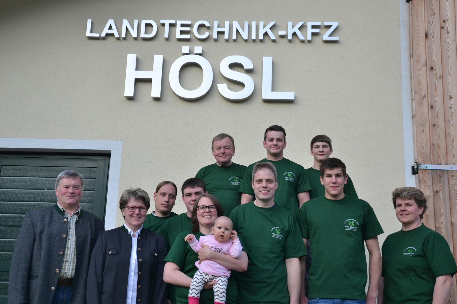 Team Hösl Landtechnik-KFZ Frankenfels